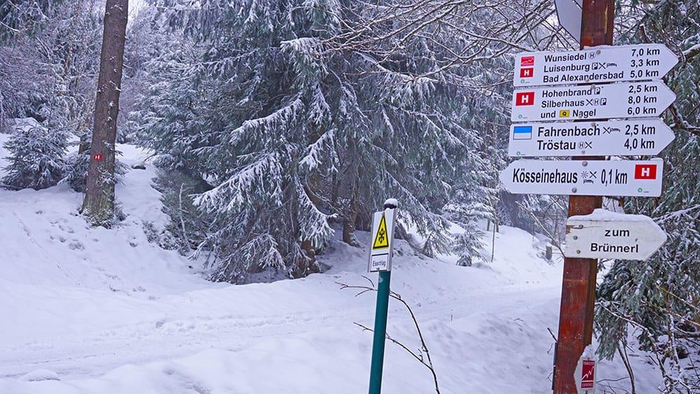 Fichtelsee, Nagler See, Kösseine, Hoher Matze, Platte und Seehaus, 27 km und 785 hm