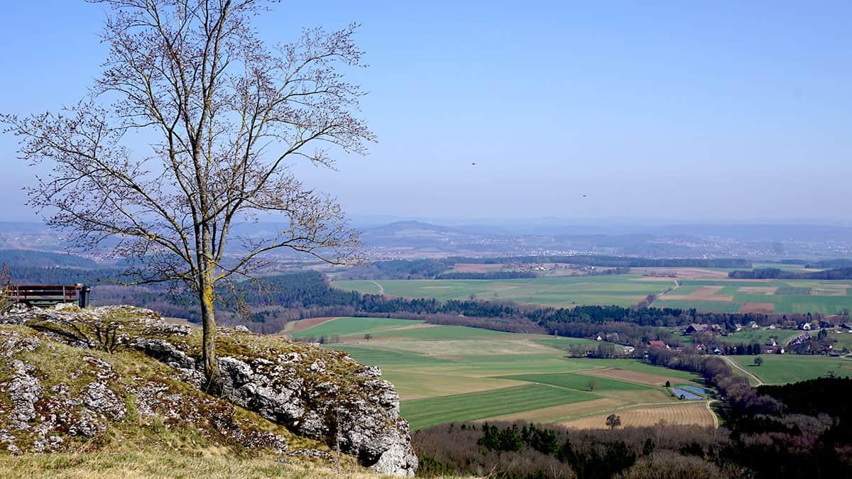 Durchwanderung von Bamberg nach Kulmbach, 78 km