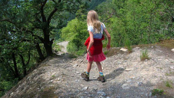 Nach Ziegenrück, der Weg durch den Trockenwald
