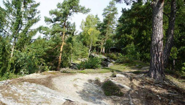 Felsen bei der Pößnecker´s Hütte