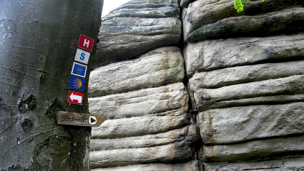 Vom Rudolfstein zum Seehaus, Fichtelsee und Haberstein zum Schneeberggipfel