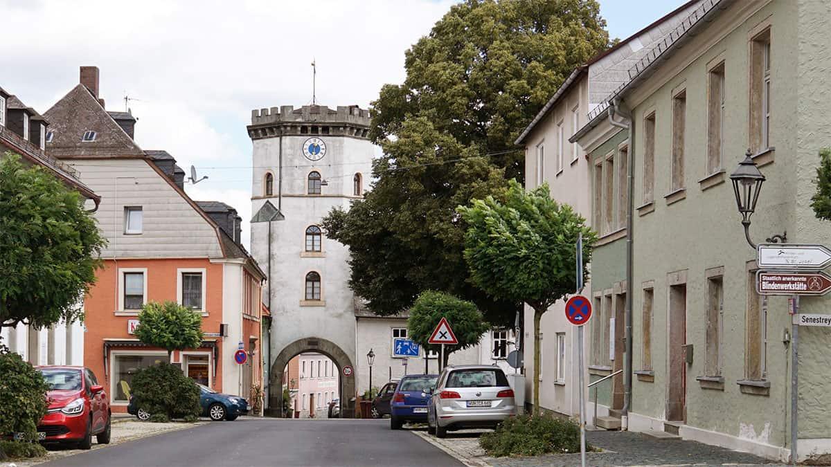 Vorbach, Wunsiedel und mit dem Röslau Weg