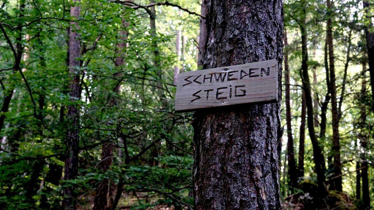 Der Schwedensteig beim Püttlachtal