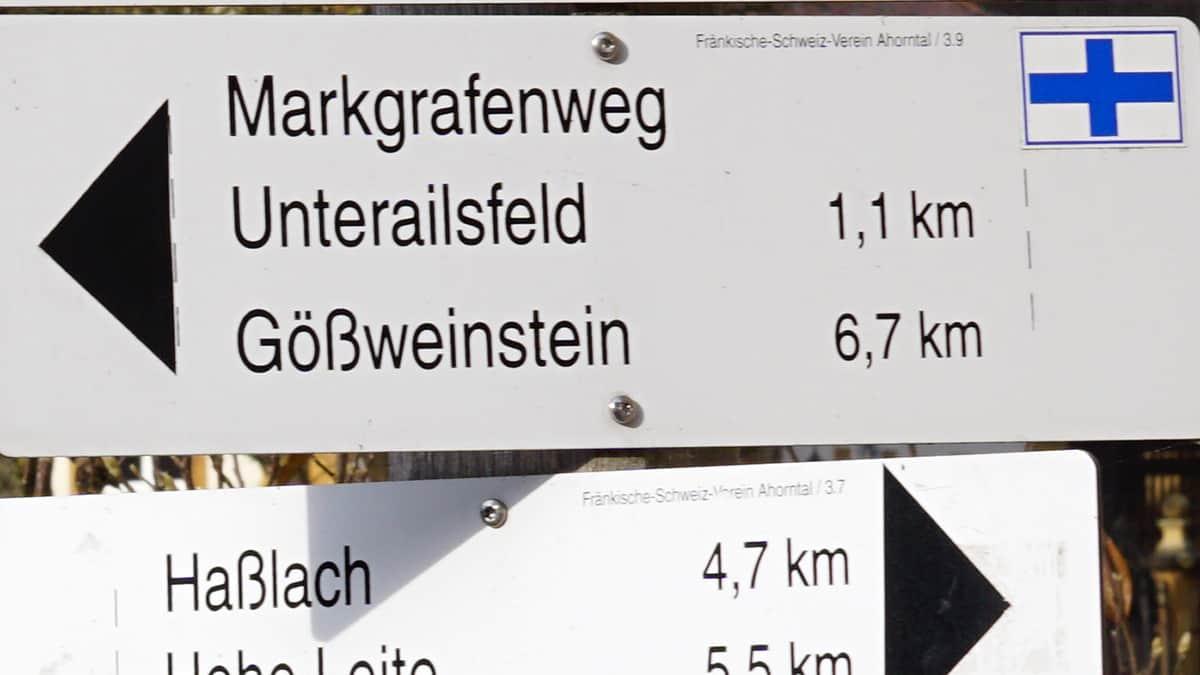 Behringersmühle, Tüchersfeld, Kühloch Höhle, Oberailsfeld