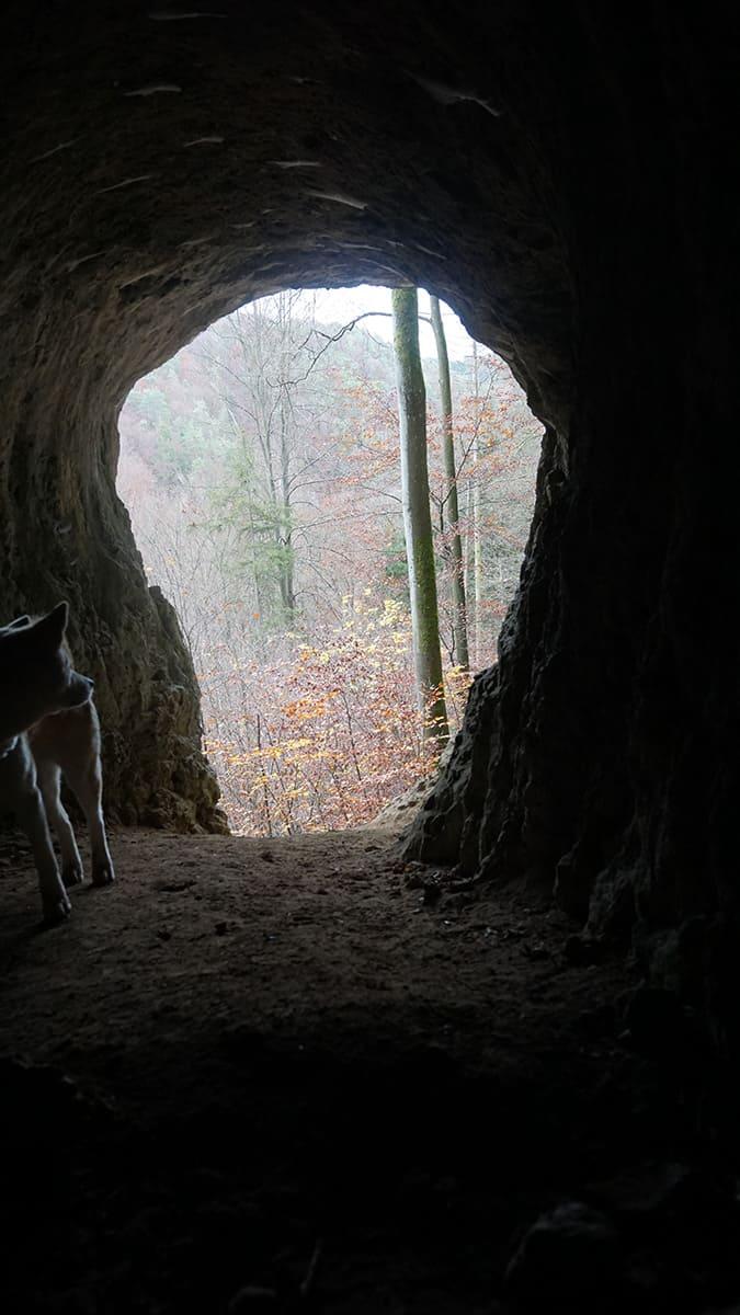 Pottenstein, Hasenloch und Schlosserhöhle