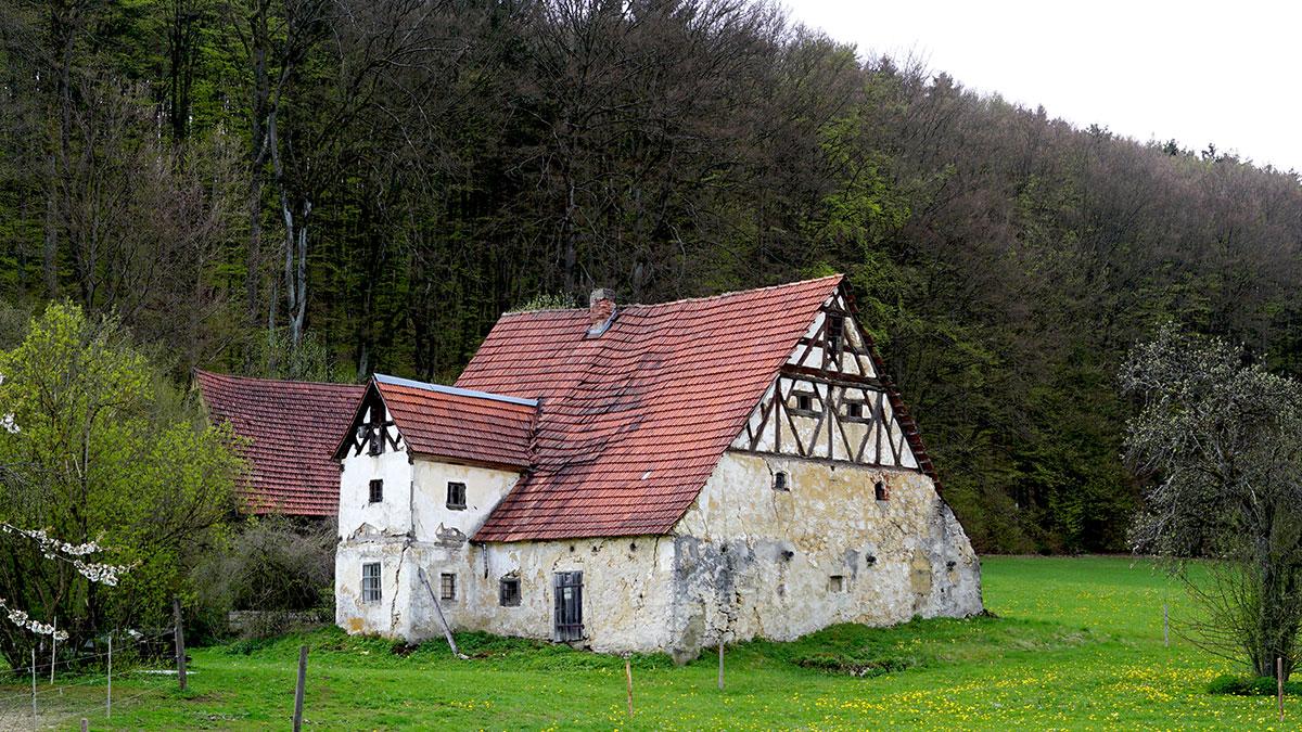 Historische Häuser der Oberpfalz
