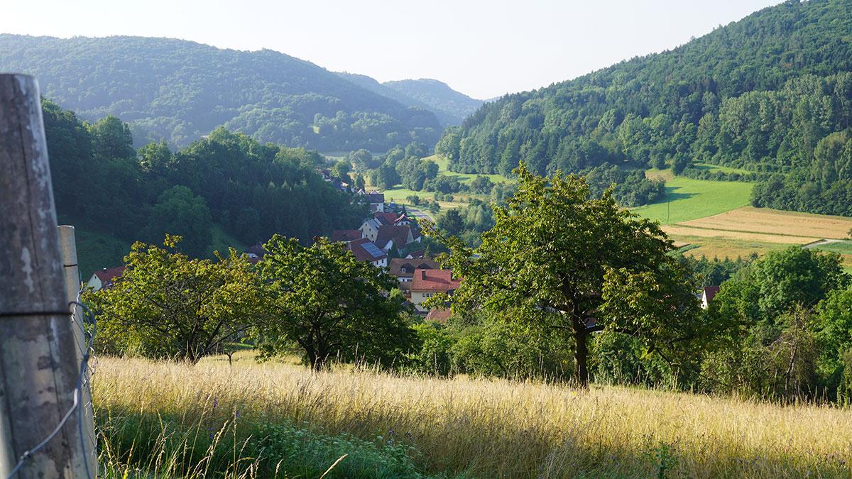 Vor Schweinthal in der Fränkischen Schweiz